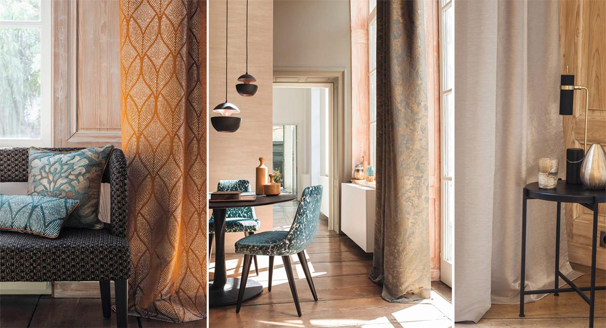 Luksuzne tkanine inspirisane jesenjim bojama